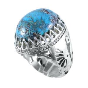 انگشتر مردانه فیروزه _ کد : ۱۰۰۰۰۳