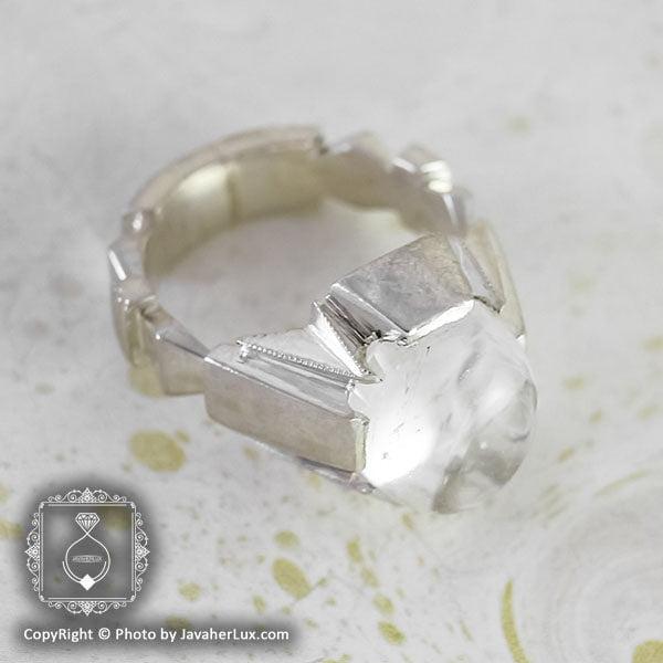 انگشتر نقره مردانه در نجف مدل نیشام _ کد : 100068