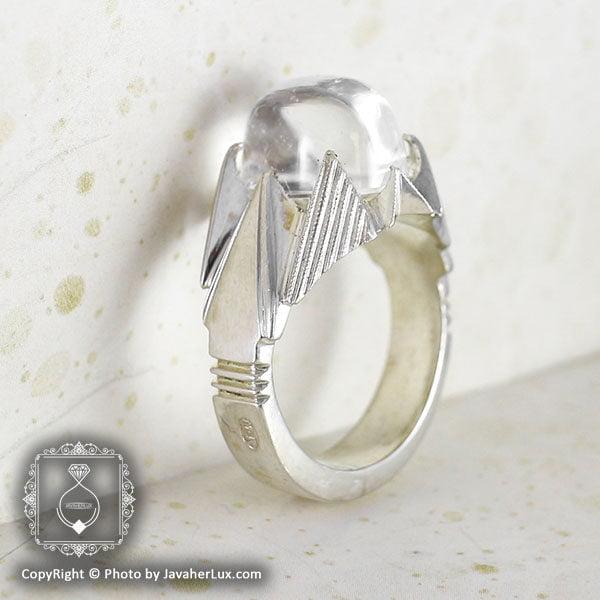 انگشتر نقره مردانه درنجف مدل شهداد _ کد : 100068