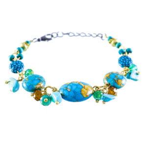 دستبند زنانه مدل تلما _ کد : ۲۰۰۰۲۰
