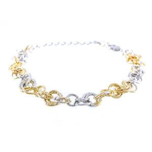 دستبند زنانه حلقه ای مدل ماریا _ کد : ۲۰۰۰۲۷