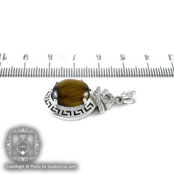 گردنبند نقره زنانه تایگر مدل سوژین _ کد : ۱۰۰۰۹۸