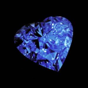 الماس قلب ابدیت