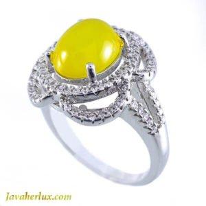 انگشتر زنانه شرف الشمس مدل بارو _ کد : 100001