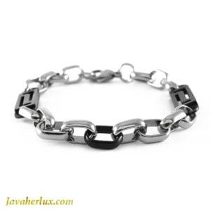 دستبند زنجیری مردانه مدل آچیم _ کد : 200139
