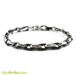 دستبند زنجیری مردانه مدل آزر _ کد : 200140