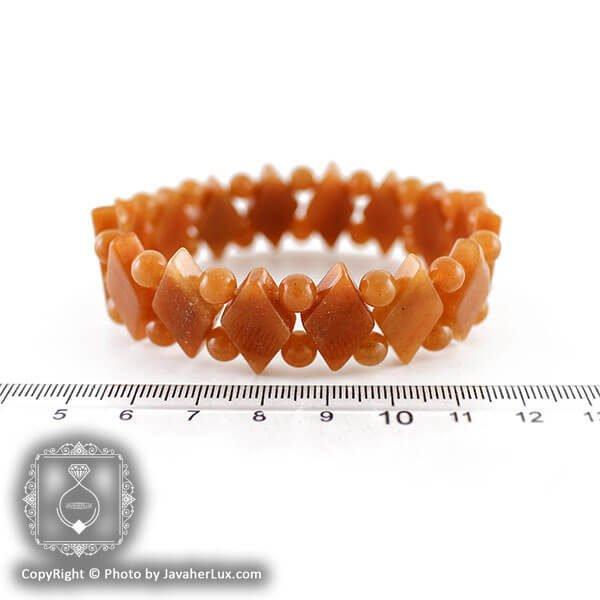 دستبند سنگ سان استون مدل هانه _ کد : 400026