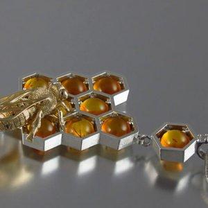 زنبور عسل در دنیای جواهرات
