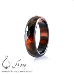 حلقه ساده عقیق سلیمانی مدل آتا _ کد : 400075