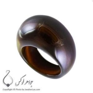 انگشتر سنگ عقیق سلیمانی مدل کانا _ کد : 400084