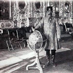 کره جواهر نشان ناصر الدین شاه