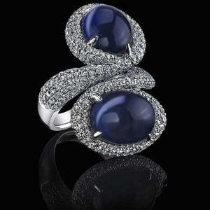تراش گنبدی در جواهرات