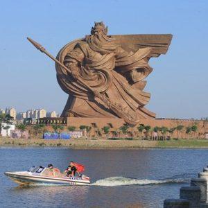 مجسمه 1320 تنی خدای جنگ در چین