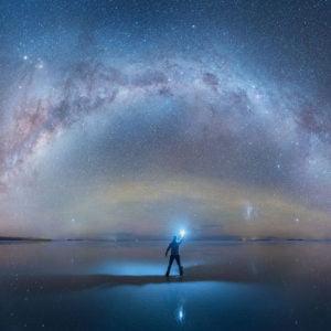 زیبایی های کهکشان شیری در قاب تصویر