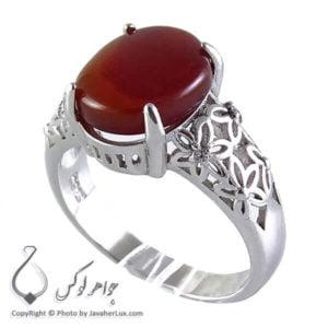 انگشتر عقیق یمنی زنانه ایلانا _ کد : 100171