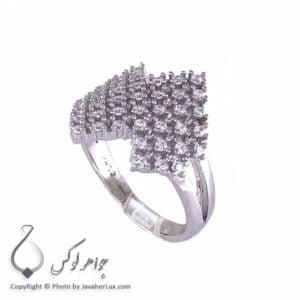 انگشتر نقره زنانه میکروستینگ مدل ارون _ کد : 100197