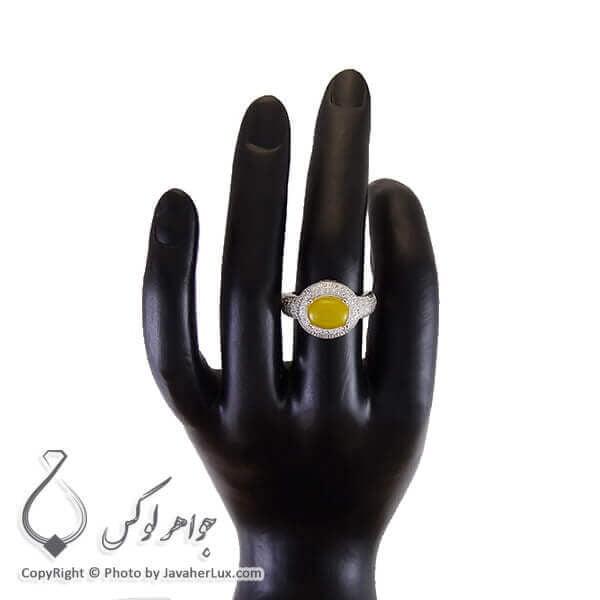 انگشتر شرف شمس نقره زنانه _ کد : 100198