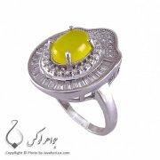 انگشتر شرف شمس نقره زنانه درا _ کد : ۱۰۰۲۰۰