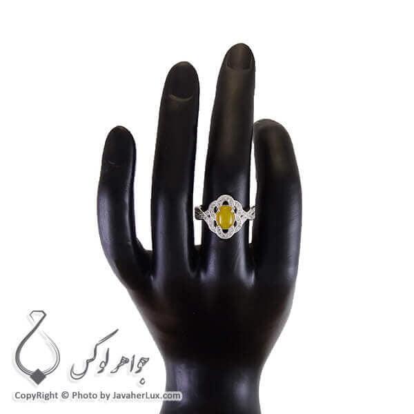 انگشتر زنانه شرف الشمس مدل سدنا _ کد : 100194