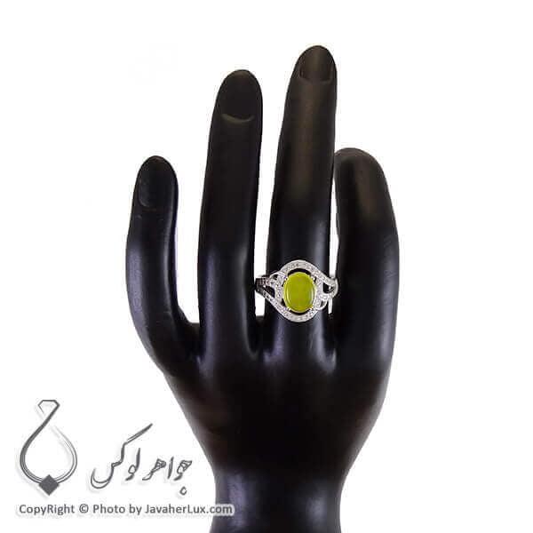 انگشتر شرف الشمس نقره زنانه مدل محیا _ کد : 100264