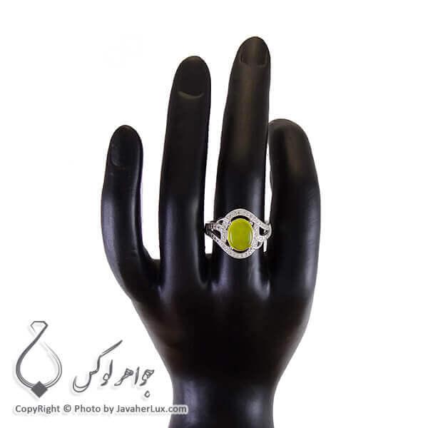 انگشتر شرف الشمس نقره زنانه مدل محیا _ کد : ۱۰۰۲۶۴