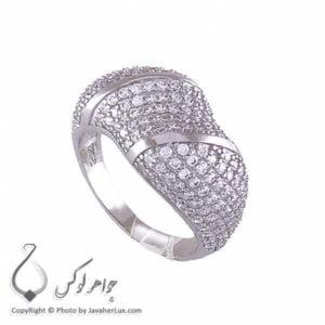 انگشتر نقره زنانه میکروستینگ مدل نیلسا _ کد : 100195