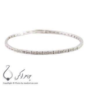 دستبند نقره زنانه مدل جول _ کد : 100243