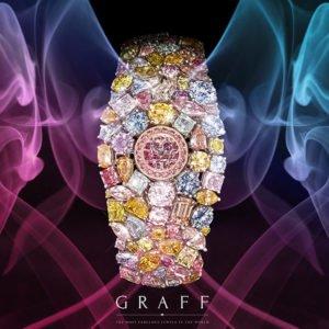 ساعت الماس 55 میلیون دلاری