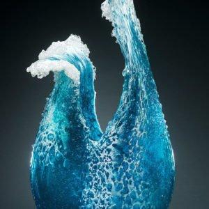 امواج دریا از جنس شیشه
