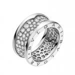 انگشترهای بولگاری الماس نشان