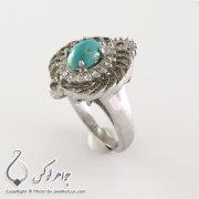 Womens-silver-ring-turquoise-Neyshabouri-code-100334-3