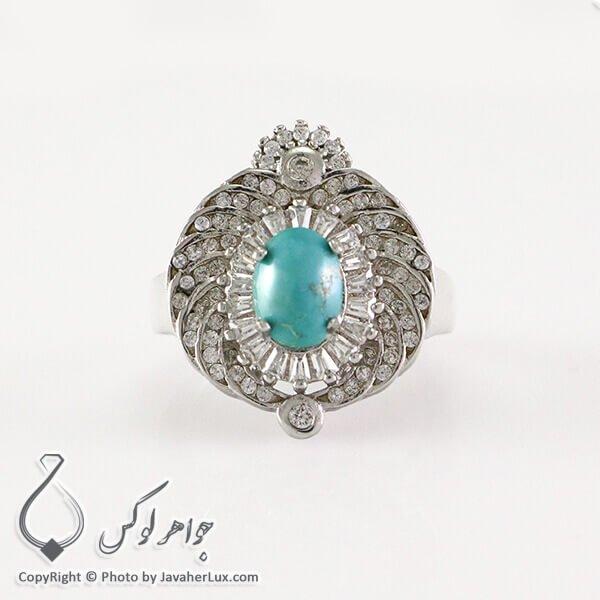 Womens-silver-ring-turquoise-Neyshabouri-code-100334-2