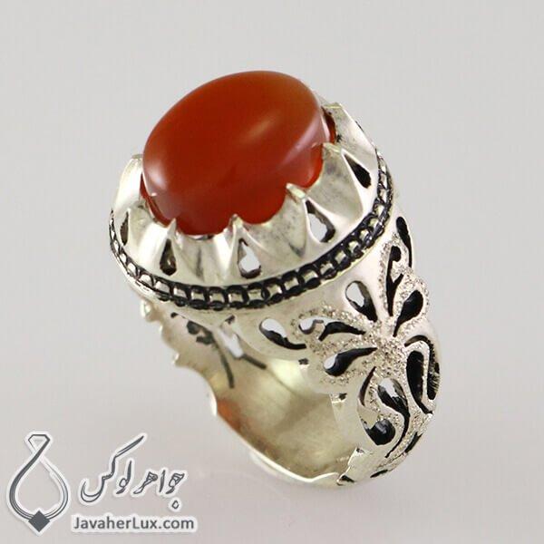 Mens-silver-ring-agate-Khorasan-code-100337-3