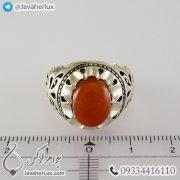 Mens-silver-ring-agate-Khorasan-code-100337-5