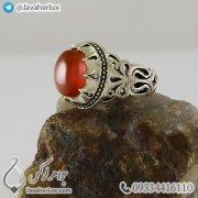 Mens-silver-ring-agate-Khorasan-code-100337-4