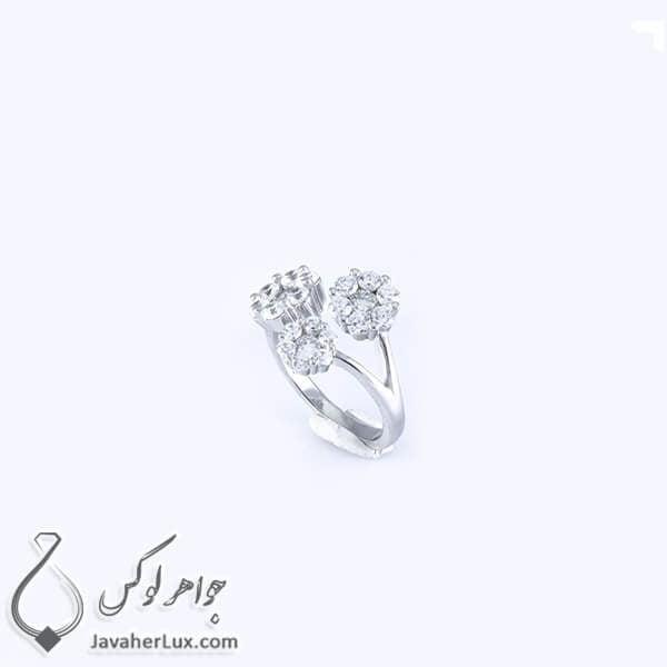 انگشتر نقره زنانه مدل ارینا _ کد : 100339