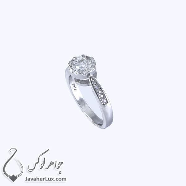 انگشتر نقره زنانه مدل استاتیرا _ کد : 100342