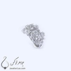انگشتر نقره زنانه مدل افروغ _ کد : 100343