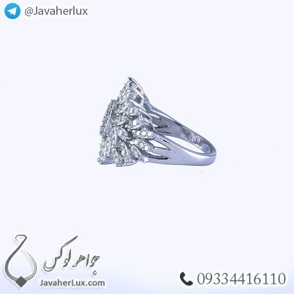 انگشتر نقره زنانه مدل الیسا _ کد : 100346