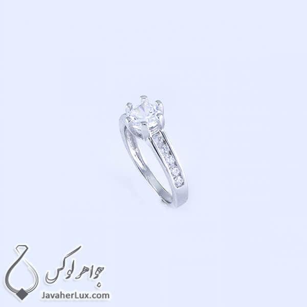انگشتر نقره زنانه مدل الیما _ کد : 100347