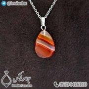 carnelian-Agate-stone-pendant-code-400173-1