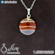 carnelian-Agate-stone-pendant-code-400174-1