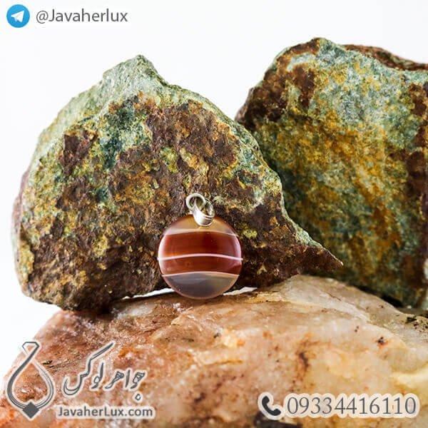 carnelian-Agate-stone-pendant-code-400174-4