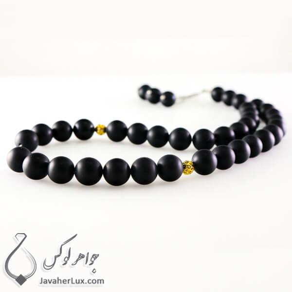 black-agate-mate-stone-rosary-33-beads-code-500046-1