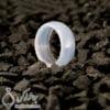 حلقه عقیق سفید مدل بهبد _ کد : 400268