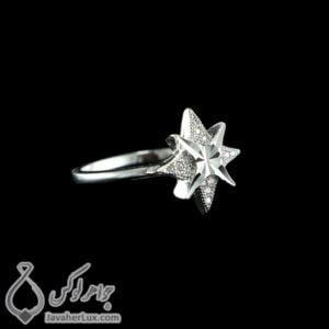 انگشتر نقره زنانه مدل تابال _ کد : 100451