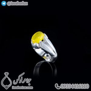 انگشتر نقره مردانه شرف الشمس _ کد : 100478