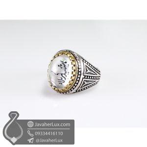 انگشتر نقره مردانه در نجف حکاکی یا شهید کربلا _ کد : 100496