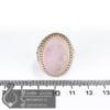 انگشتر نقره مردانه عقیق کبود حکاکی یا محمد _ کد : 100497 - جواهر لوکس