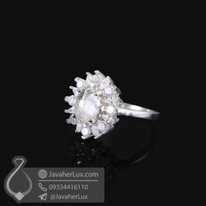 انگشتر نقره زنانه در نجف مدل رامان _ کد : 100503